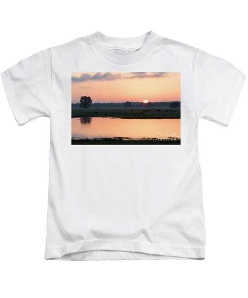 Texas Sunrise Kids T-Shirt