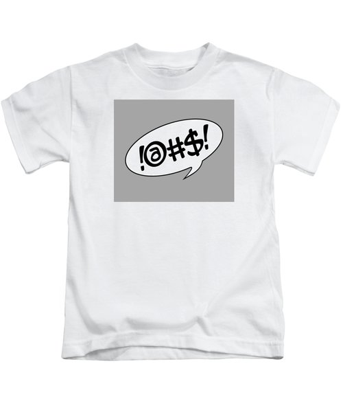 Text Bubble Kids T-Shirt