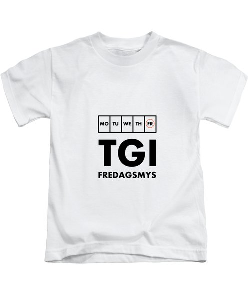 Tgi Fredagsmys Kids T-Shirt