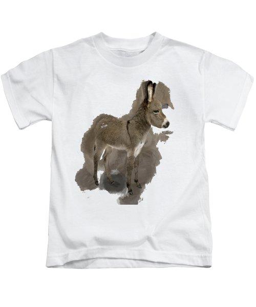 That Cute Donkey Foal In Profile Kids T-Shirt