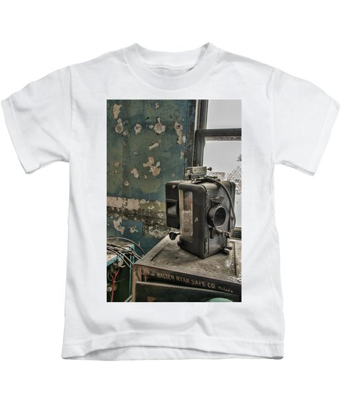 The Abandoned Projector Kids T-Shirt