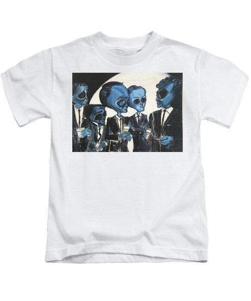 The Alien Rat Pack Kids T-Shirt