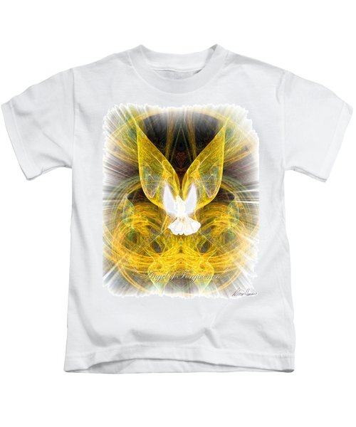 The Angel Of Forgiveness Kids T-Shirt