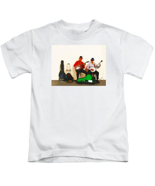 The Banjo Dudes Kids T-Shirt