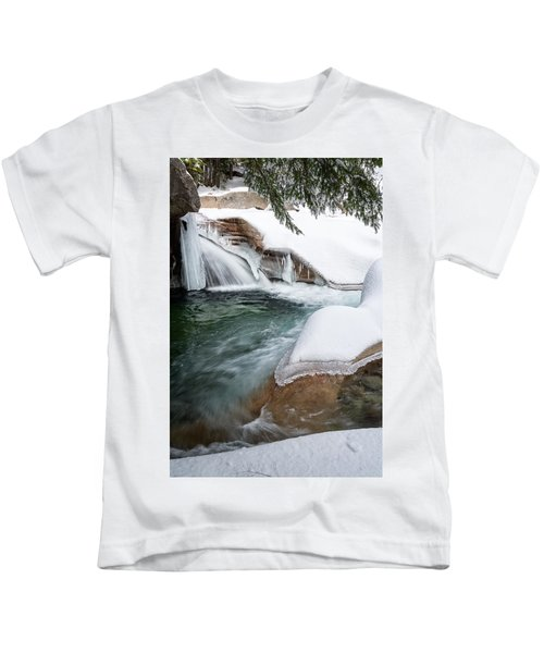 The Basin Side View Nh Kids T-Shirt