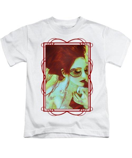 The Bleeding Dream - Self Portrait Kids T-Shirt