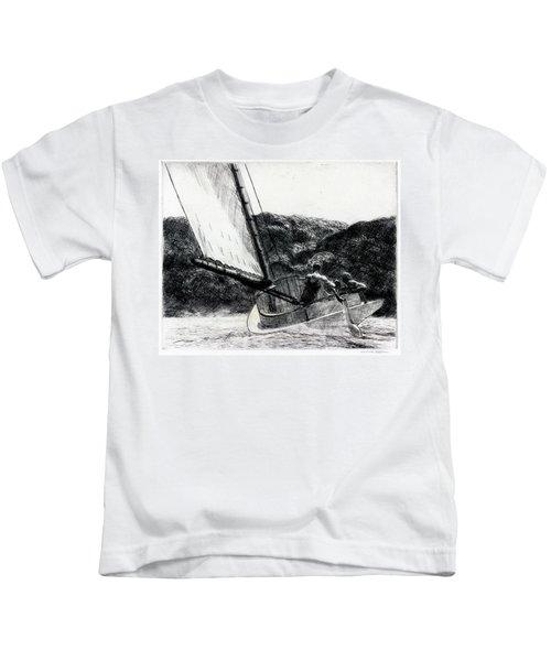 The Cat Boat Kids T-Shirt