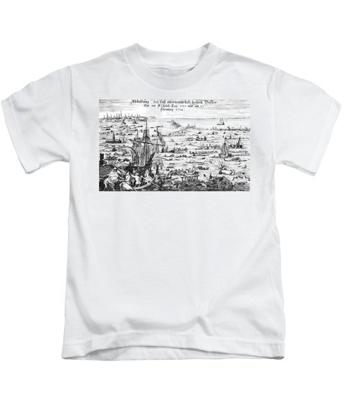 The Christmas Flood Kids T-Shirt