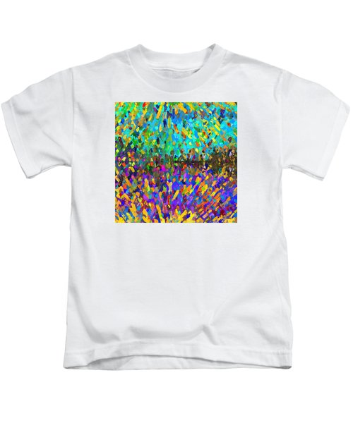 The Cosmic Dance - Abstract 2 Kids T-Shirt