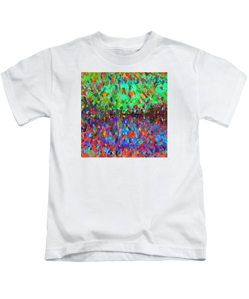 The Cosmic Dance - Abstract 3 Kids T-Shirt