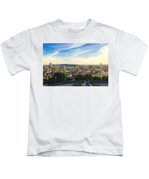 The Domes Of Rome Kids T-Shirt