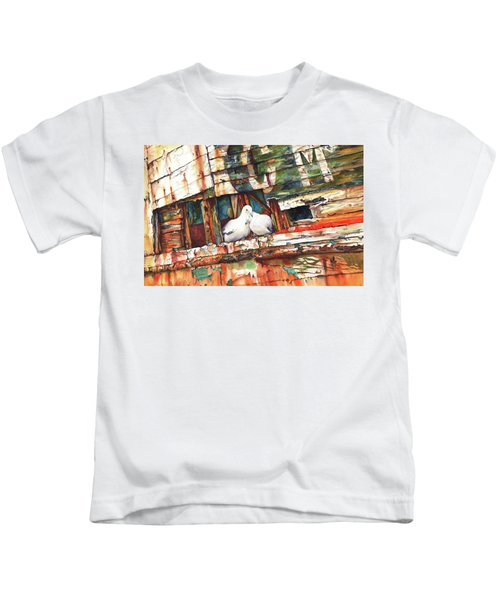 The Dove Boat Kids T-Shirt