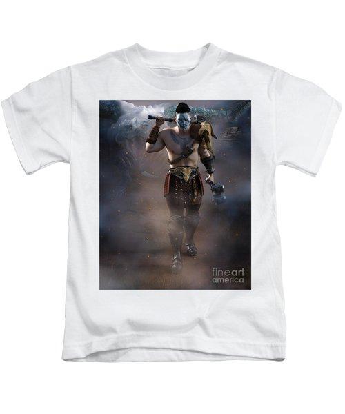 The Dragon Master Kids T-Shirt