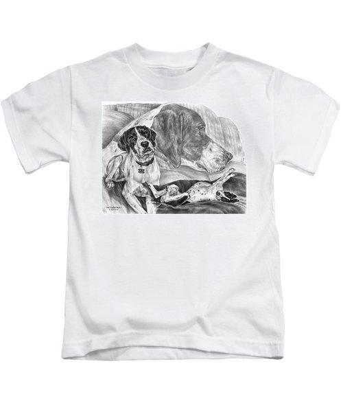 The English Major - English Pointer Dog Kids T-Shirt