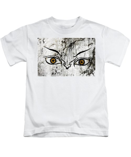 The Eyes Of Guru Rimpoche  Kids T-Shirt