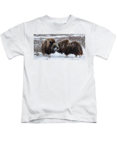 The Face Off  Kids T-Shirt