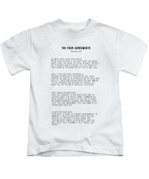 The Four Agreements 5 Kids T-Shirt