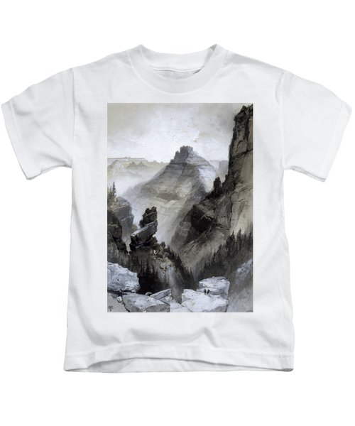 The Grand Canyon - Head Of The Old Hance Trail Kids T-Shirt