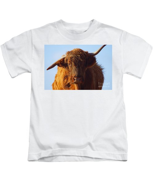 The Highland Cow Kids T-Shirt