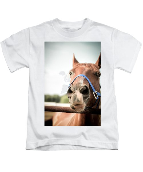 The Horse's Mouth Kids T-Shirt