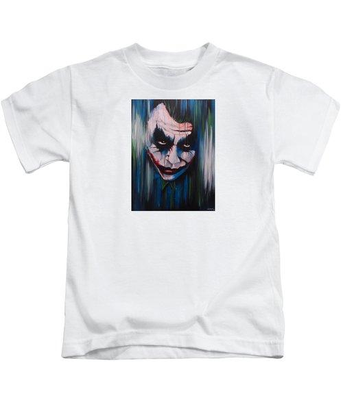 The Joker Kids T-Shirt by Michael Walden