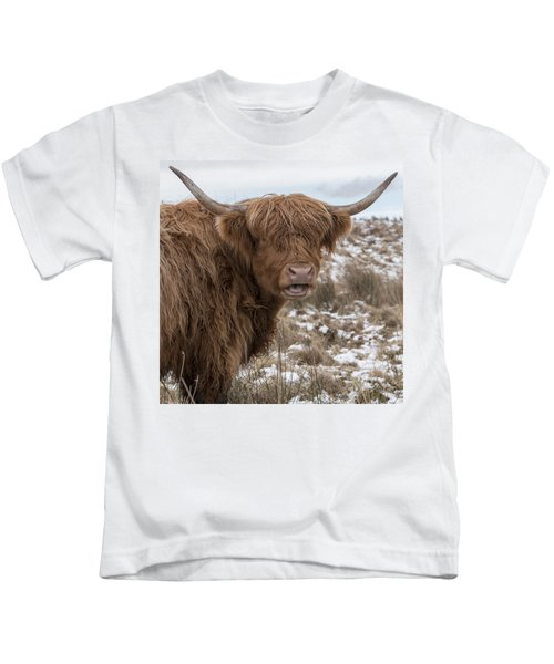 The Laughing Cow, Scottish Version Kids T-Shirt