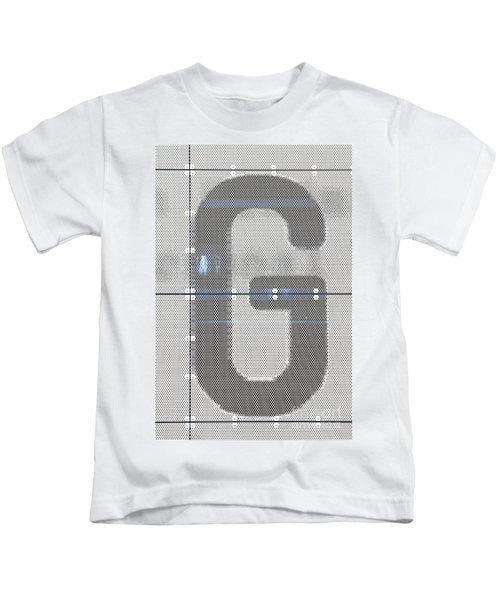 The Letter G Kids T-Shirt