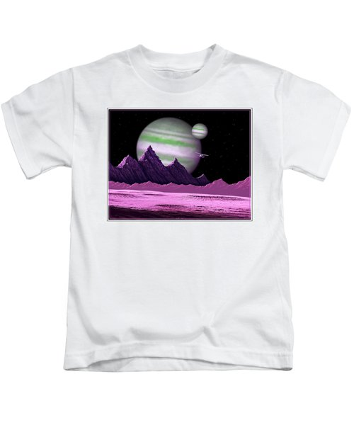 The Moons Of Meepzor Kids T-Shirt