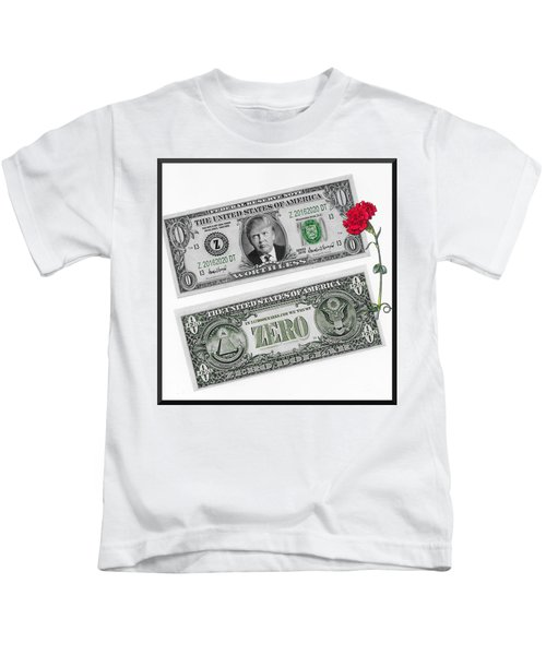 The New Trump Currency Kids T-Shirt