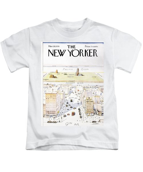 View From 9th Avenue Kids T-Shirt