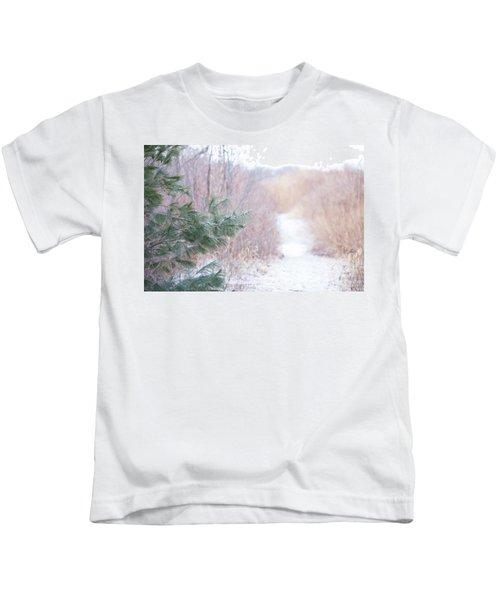 The Path Untraveled  Kids T-Shirt