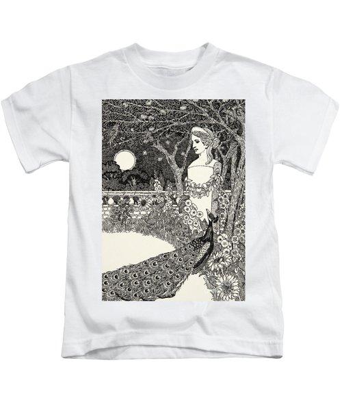 The Peacock's Complaint Kids T-Shirt