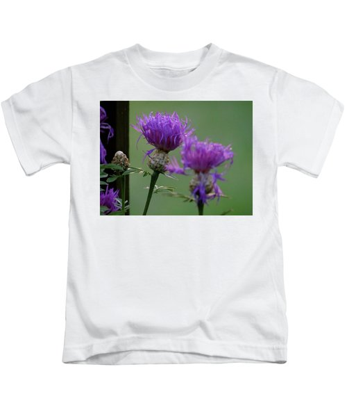 The Purple Bloom Kids T-Shirt