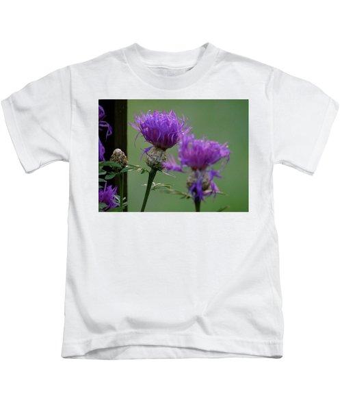 The Purple Bloom Kids T-Shirt
