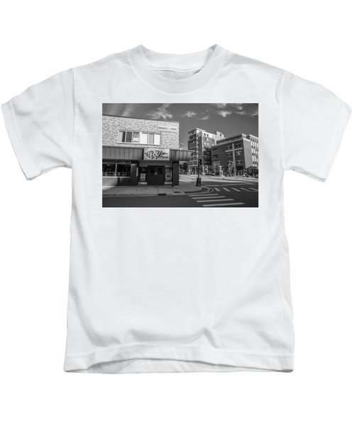 The Riv Ion Black And White Kids T-Shirt