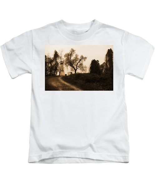 The Road To Turkey Point Lighthouse Kids T-Shirt