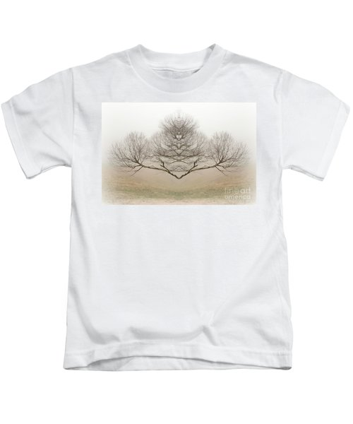 The Rorschach Tree Kids T-Shirt