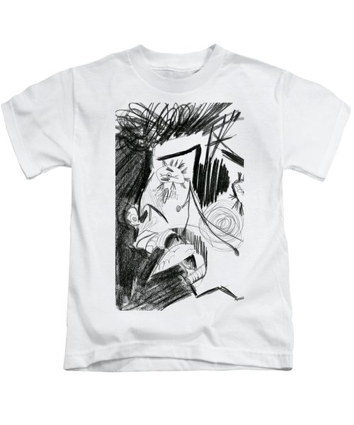 The Scream - Picasso Study Kids T-Shirt