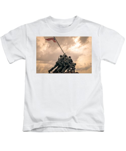 The Skies Over Iwo Jima Kids T-Shirt