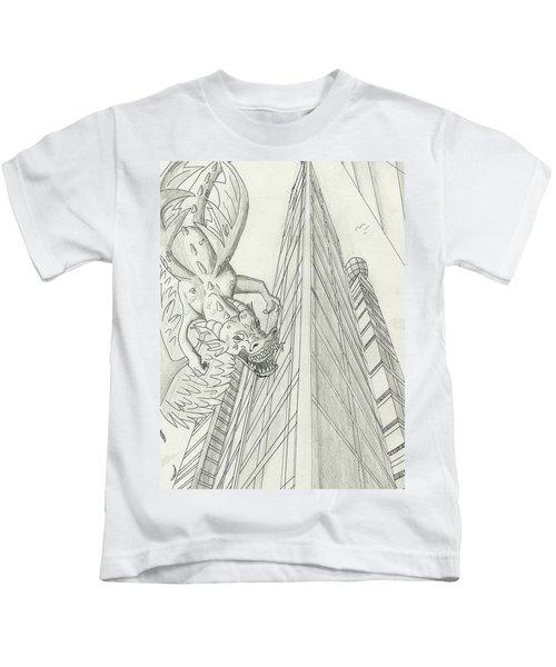 The Sky Is Falling Kids T-Shirt