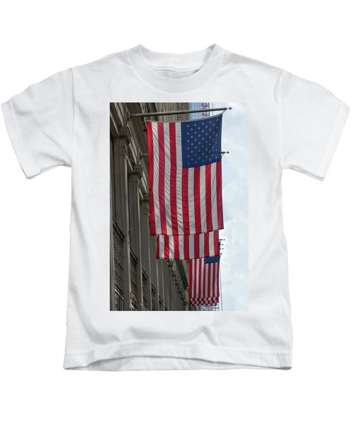 The Stars And Stripes Kids T-Shirt