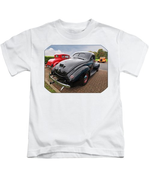 The Three Amigos - Hot Rods At Pistons In The Park Kids T-Shirt