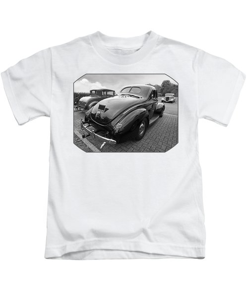 The Three Amigos - Hot Rods In Black And White Kids T-Shirt