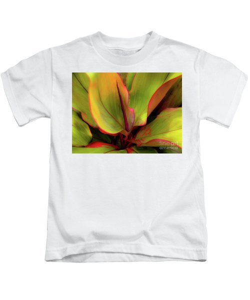 The Ti Leaf Plant In Hawaii Kids T-Shirt