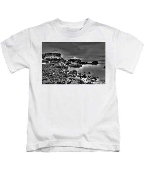The Tide Pools At Hellnar At Low Tid Kids T-Shirt