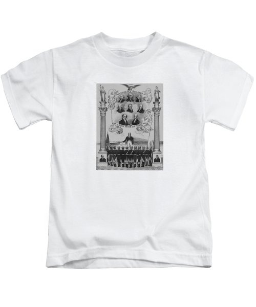 The Union Must Be Preserved Kids T-Shirt by War Is Hell Store