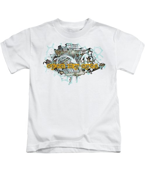 The Vail Is Upon Their Heart.  Kids T-Shirt