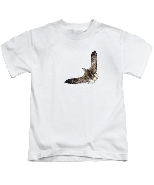 The Wings Of An Eagle 2018 Isolated Kids T-Shirt