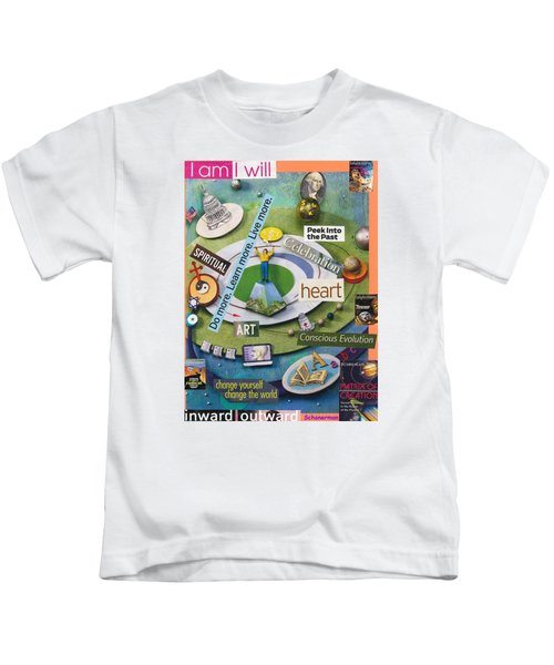 The World At Your Feet Kids T-Shirt