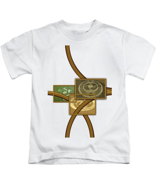 The World Of Crop Circles By Pierre Blanchard Kids T-Shirt by Pierre Blanchard